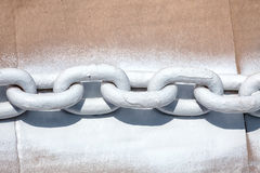 Painted Chain Royalty Free Stock Images
