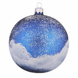 Painted christmas ball Stock Photo
