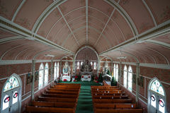 The painted church of schulenburg texas Stock Image