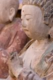 Painted clay figure of china Royalty Free Stock Image