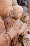 Painted clay figure of china. Antique city of Beijing. This is a very famous market of antique of Beijing Stock Image