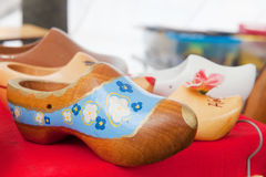 Painted clogs Royalty Free Stock Photography