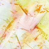 Painted collage paper texture Royalty Free Stock Images