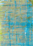 Painted collage paper texture Stock Image