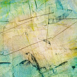 Painted collage, paper texture. Painted torn scratched collage, paper texture Royalty Free Stock Image