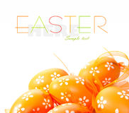 Painted Colorful Easter Egg Royalty Free Stock Photography