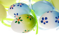 Painted Colorful Easter Eggs Stock Image