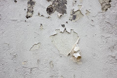 Painted cracked wall texture Royalty Free Stock Images