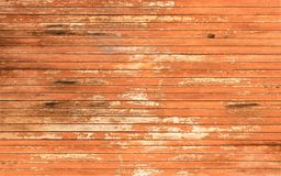 Painted damaged wooden surface closeup, background/ texture. royalty free stock images