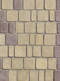 Painted decorative concrete blocks Royalty Free Stock Photo