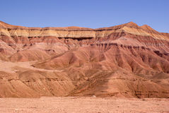 Painted Desert. Colorful mountain in the Painted Desert od Arizona Royalty Free Stock Image