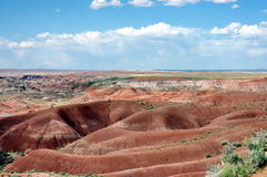 Painted Desert. Petrified Forest National Park in Arizona Stock Photo
