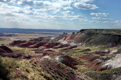 Painted Desert. Petrified Forest National Park in Arizona Stock Photography