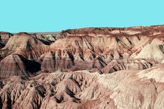Painted desert Royalty Free Stock Photos