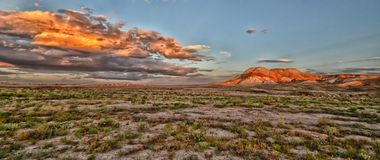 Painted Desert. At Arckaringa South Australian Outback Royalty Free Stock Image
