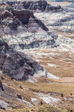 Painted desert badlands Royalty Free Stock Images