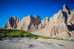 Painted Desert of Badlands National Park Stock Images