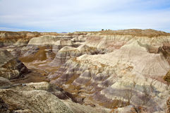 Painted Desert Hills Stock Images