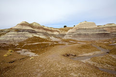 Painted Desert Hills Royalty Free Stock Image