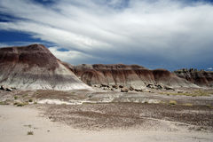 Painted Desert Landscape. The Painted Desert in Petrified Forest National Park, Arizona Stock Photography