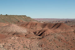 Painted desert Landscape Stock Photo