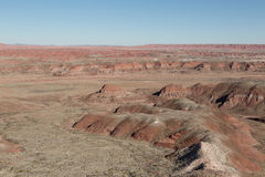 Painted desert Landscape Stock Images