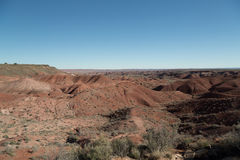 Painted desert Landscape Stock Photos