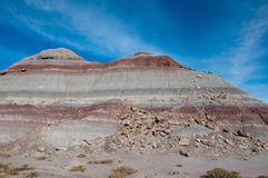 Painted desert mesa Stock Image