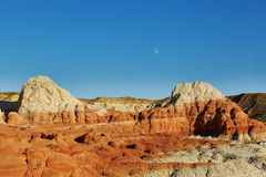 Painted Desert national park in Arizona Royalty Free Stock Photos