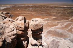 Painted Desert National Park, Arizona USA Royalty Free Stock Photo
