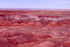Mars on Earth. Painted Desert National Park stock images