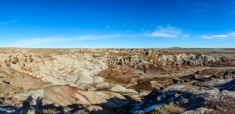 Painted Desert in Arizona. Painted Desert National Park in the state of Arizona, USA Royalty Free Stock Photos