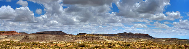 Painted Desert Panorama Stock Images