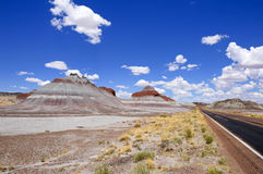 Painted Desert, Petrified Forest National Park Royalty Free Stock Images