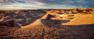 Painted Desert Sunset Stock Photography