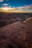 Painted Desert Sunset Royalty Free Stock Photos