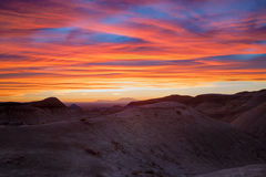 Painted Desert Sunset Stock Image