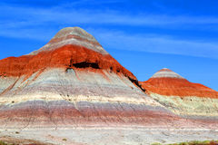 Painted Desert. United States Painted Desert National Park in the state of Arizona Stock Photos