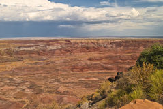 Painted Desert View. This is a view from Painted Desert National Park stock images