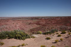 Painted Desert View Stock Photography