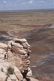 Painted Desert View Royalty Free Stock Photo