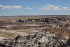 Painted Desert View Royalty Free Stock Photos