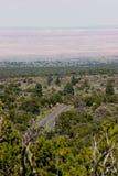 Painted Desert Vista near Flagstaff. Painted Desert Vista, Sunset Crater Volcano National Monument, near Flagstaff, Arizona Stock Photos