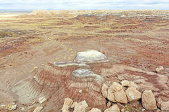 Painted Desert in the Winter Stock Images