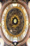 Painted Dome of Peterskirche in Vienna Stock Photography