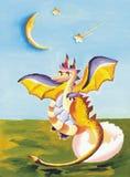 Painted Dragon Stock Photos