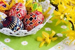 Painted Easter egg Stock Image