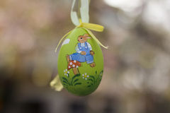 Painted easter egg Royalty Free Stock Images