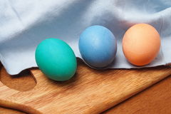 Painted easter egg. Painted easter group egg colored Stock Photo