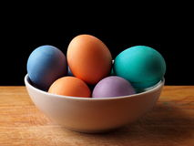 Painted easter egg. Painted easter group egg colored Royalty Free Stock Photography